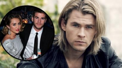 Liam Hemsworth bátyja minden erejével ellenzi öccse és Miley Cyrus házasságát