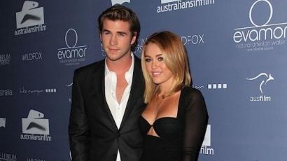 Liam Hemsworth imádja Miley új frizuráját