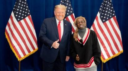 Lil Wayne kegyelmet kapott Donald Trumptól