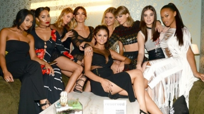 Lily Aldridge megvédte Taylor Swift squadját