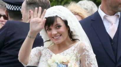 Lily Allen férjhez ment