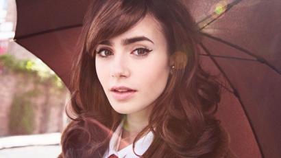 Lily Collins 2013 legveszélyesebb sztárja