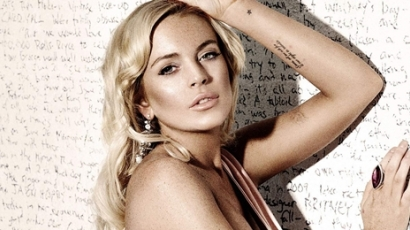 Lindsay Lohan aggódik kollégájáért
