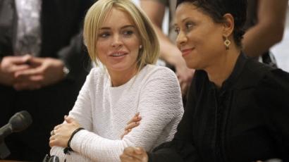 """Lindsay Lohan: """"Engem nem lopásra neveltek"""""""