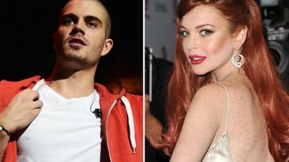 Lindsay Lohan és Max George hivatalosan is randiznak