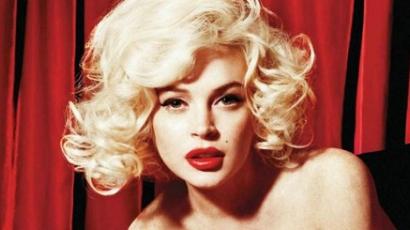 Lindsay Lohan férfiakat vetkőztetett