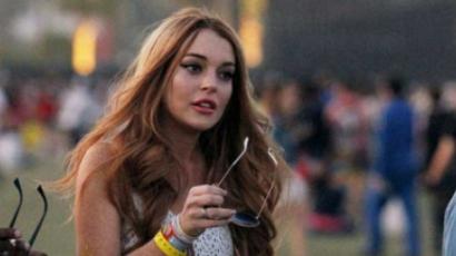 Lindsay Lohan fesztiválon mulat
