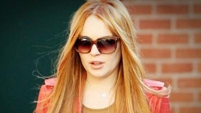 Lindsay Lohan ismét vörös