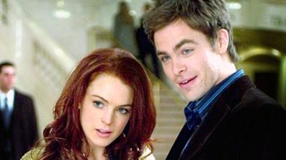 "Lindsay Lohan ""megleckéztette"" Chris Pine-t"