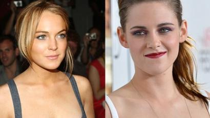 Lindsay Lohan most Kristen Stewartot égeti