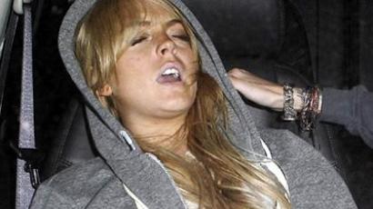 Lohan egyre jobban néz ki a rendőrség képein