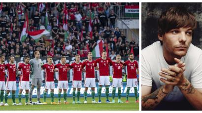Louis Tomlinson is a magyar fociról tweetelt