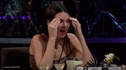 Madárnyálat ivott Kendall Jenner James Corden műsorában