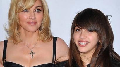 Madonna 13 éves lánya címlapsztár!