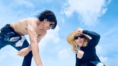 Madonna (62) felköszöntötte 27 éves szerelmét