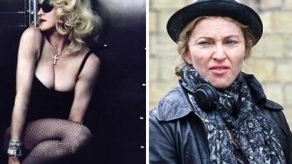 Madonna megöbbentő arca