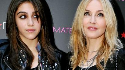 Madonna nagyon haragszik a lányára