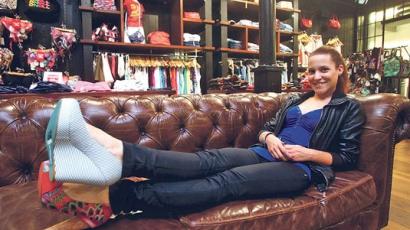 Magas sarkú cipőkkel növeli ömbizalmát Szirota Jennifer