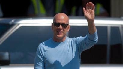 Magyarországra érkezett Bruce Willis