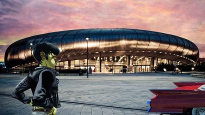 Magyarországra jön a Gorillaz