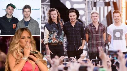 Mariah Carey összetévesztette a The Chainsmokerst a One Directionnel