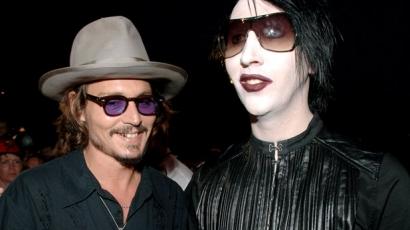 Marilyn Manson és Johnny Depp közös dallal sokkolnak