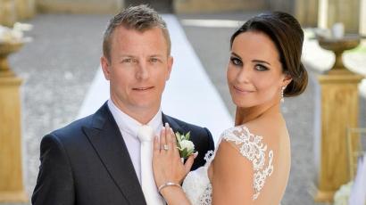 Második gyermeküket várja Kimi és Minttu Räikkönen