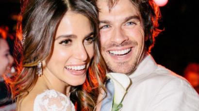 Második házassági évfordulóját ünnepli Ian Somerhalder és Nikki Reed