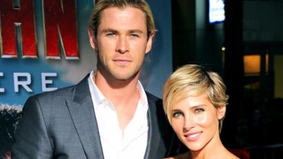 Másodjára is apa lesz Chris Hemsworth