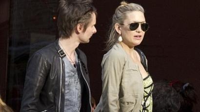Matt Bellamy és Kate Hudson összeköltözik?