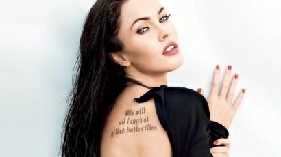 Megan Fox smink nélkül pózol első Instagram-fotóján