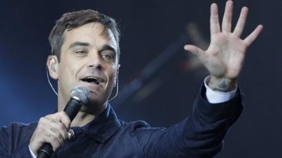 Megbotránkoztatta a hazai rajongókat Robbie Williams