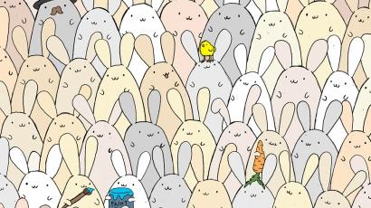 Megérkezett a húsvéti szenzáció! Te megtalálod a tojást a nyuszik között?