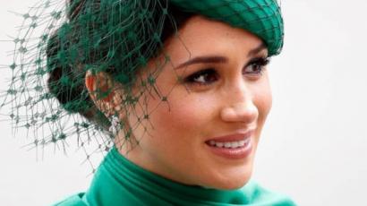 Meghan Markle utoljára jelent meg hercegnőként, zöld ruháját imádja az internet
