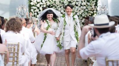Megjelent az első fotó Beth Ditto esküvőjéről