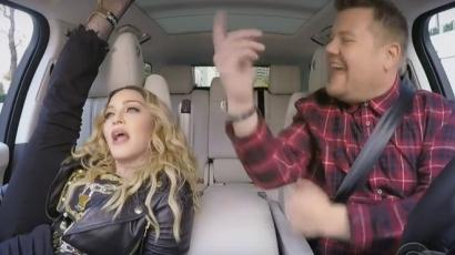 Megjelent Madonna Carpool Karaokéja – hihetetlen formában van!