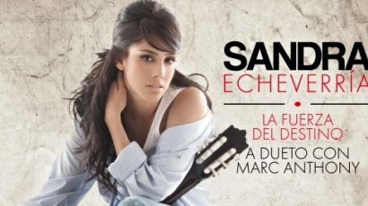 Megjelent Sandra Echeverría szólóalbuma