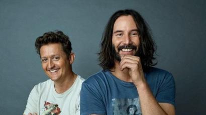 Megjelentek az első hivatalos fotók a Bill és Ted 3-hoz