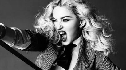 Meglepetés! Madonna is beült James Corden mellé