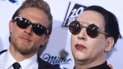 Meglepő: Charlie Hunnam Marilyn Mansont tartja az egyik legjobb barátjának