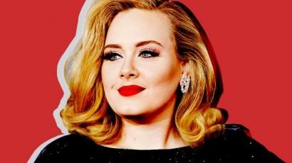 Megmutatta festetlen arcát Adele