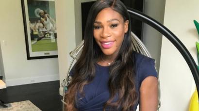 Megmutatta kisbabáját Serena Williams