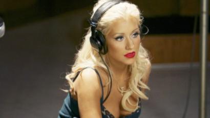 Megmutatta kislányát Christina Aguilera