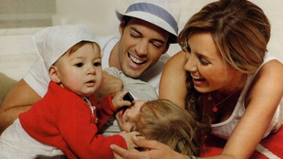 Megmutatta kislányát Elizabeth és William