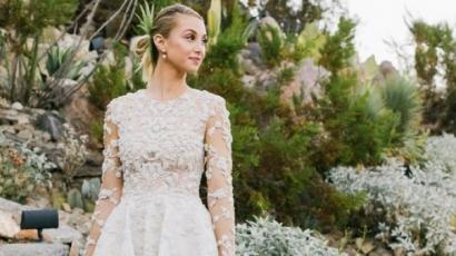 Megmutatta menyasszonyi ruháját Whitney Port