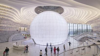 Megnyílt a világ legkirályabb könyvtára