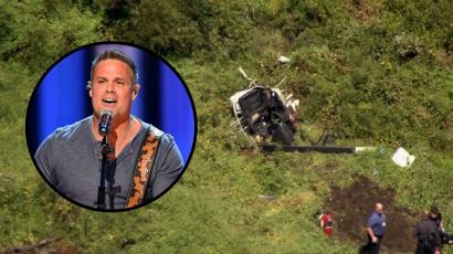 Megrázó felvételek: Helikopter-balesetben életét vesztette Troy Gentry