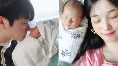 Megszületett Choi Minhwan és Kim Yulhee első közös gyermeke