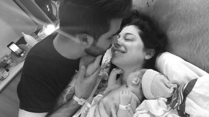Megszületett Christina Perri gyermeke