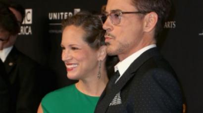 Megszületett Robert Downey Jr. kislánya